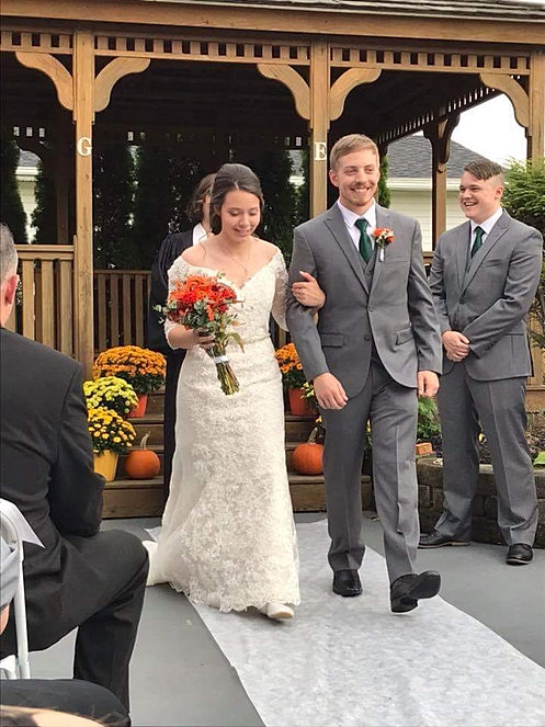 Outdoor Ceremony In Rochester Ny