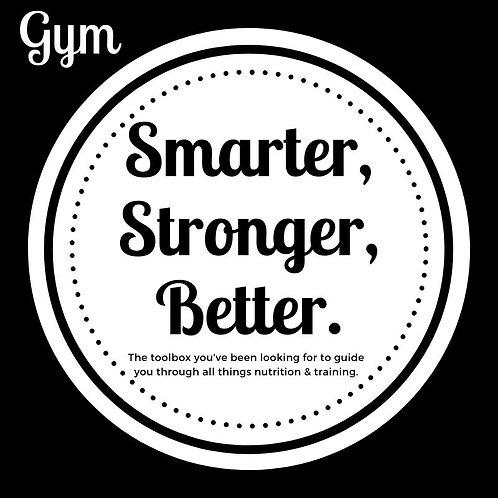 Smarter, Stronger, Better: Gym Bundle