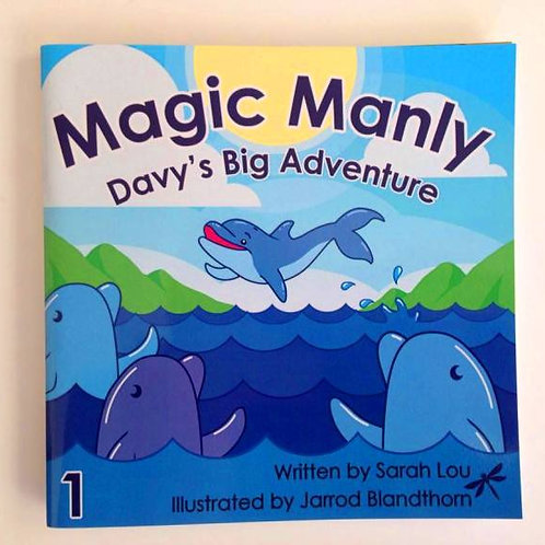 MAGIC MANLY 1 - Davy's  Big Adventure