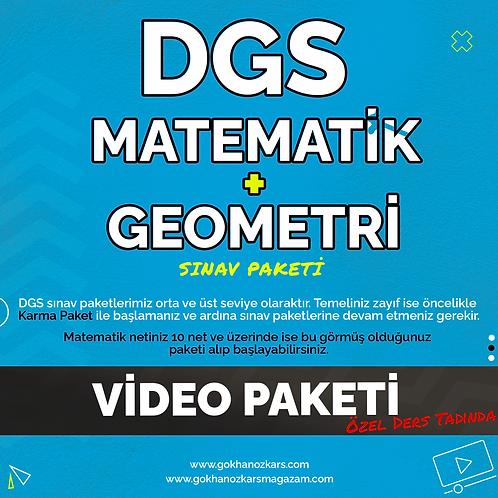 DGS MATEMATİK + GEOMETRİ