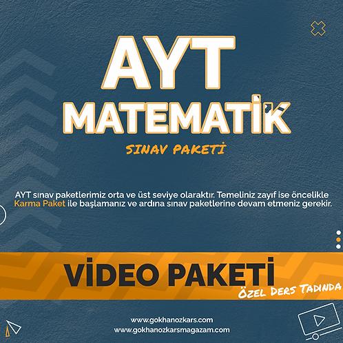 AYT MATEMATİK VİDEO PAKETİ