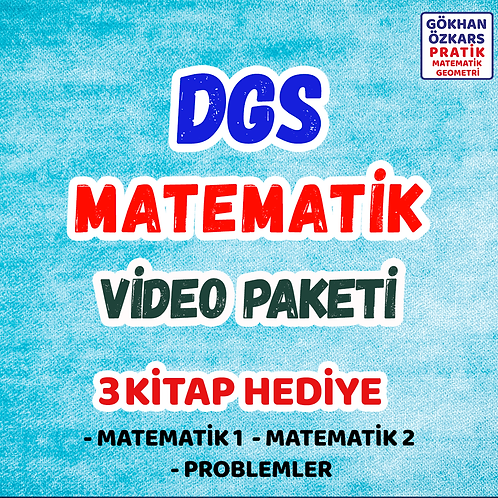 DGS MATEMATİK VİDEO PAKETİ