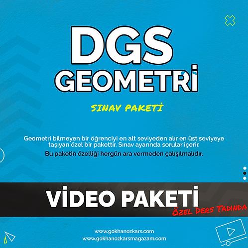 DGS GEOMETRİ VİDEO PAKETİ