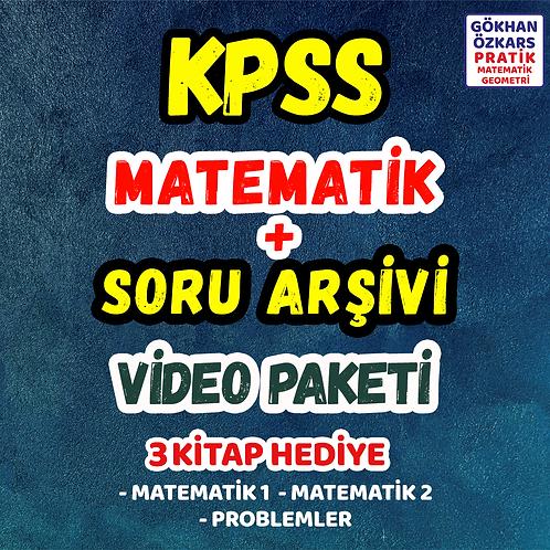 KPSS MATEMATİK + SORU ARŞİVİ VİDEO PAKETİ