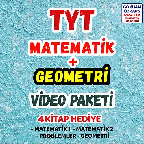 TYT MATEMATİK + GEOMETRİ VİDEO PAKETİ