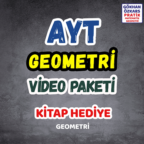 AYT GEOMETRİ VİDEO PAKETİ