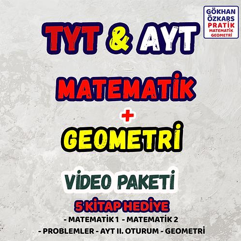TYT & AYT MATEMATİK GEOMETRİ VİDEO PAKETİ