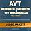 Thumbnail: AYT MATEMATİK + GEO + SORU ARŞİVİ VİDEO PAKETİ