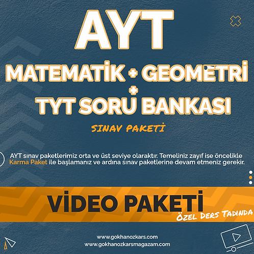 AYT MATEMATİK + GEO + SORU ARŞİVİ VİDEO PAKETİ