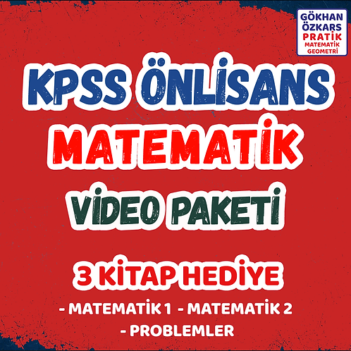 KPSS MATEMATİK VİDEO PAKETİ