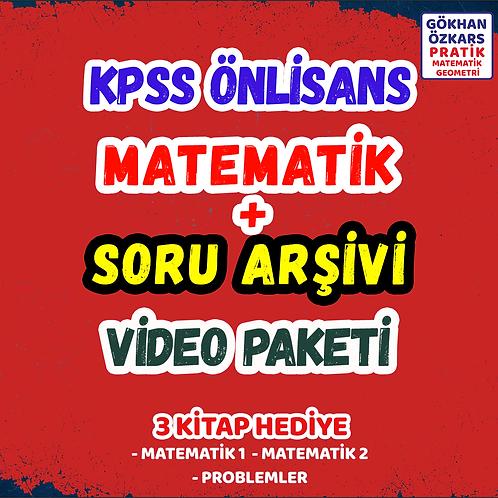 KPSS MATEMATİK + SORU BANKASI ARŞİVİ VİDEO PAKETİ
