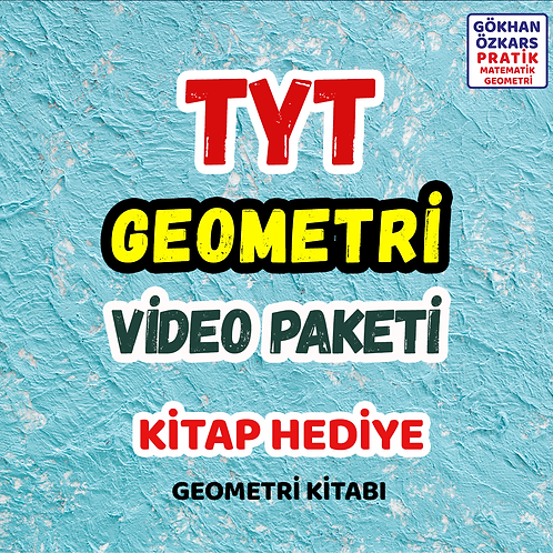 TYT GEOMETRİ VİDEO PAKETİ