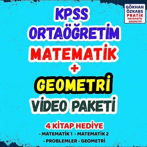 KPSS MATEMATİK + GEOMETRİ VİDEO PAKETİ