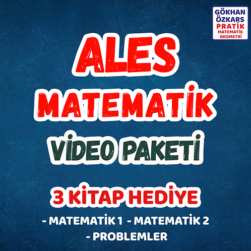 ALES MATEMATİK VİDEO PAKETİ