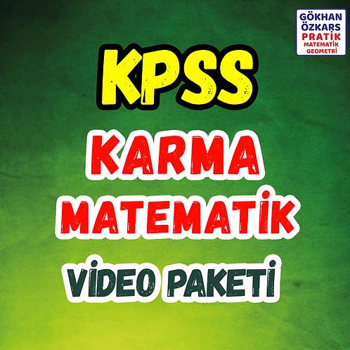 KPSS KARMA MATEMATİK
