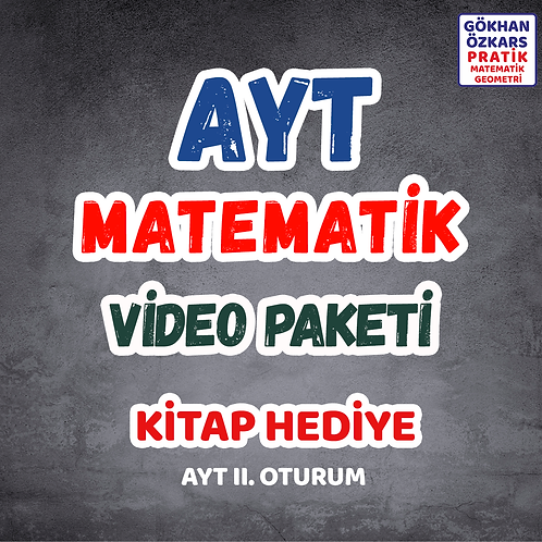 AYT MATEMATİK VİDEO PAKETİ