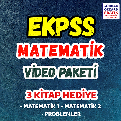 EKPSS MATEMATİK VİDEO PAKETİ