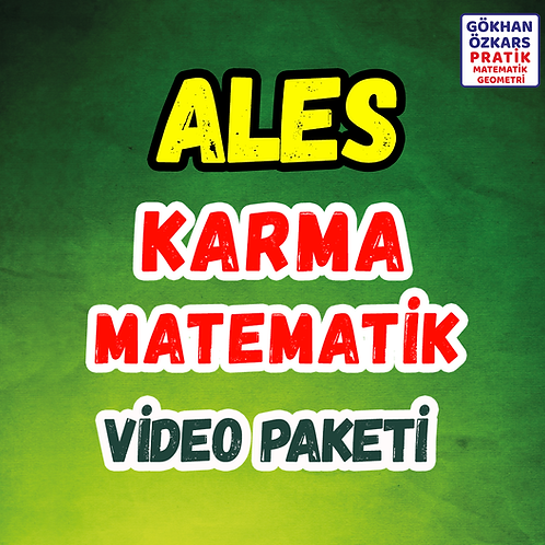 ALES KARMA MATEMATİK