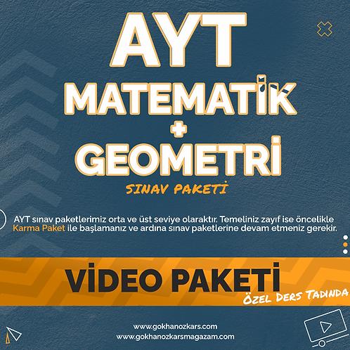 AYT MATEMATİK + GEOMETRİ