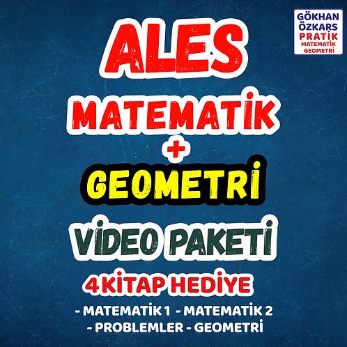 ALES MATEMATİK + GEOMETRİ VİDEO PAKETİ