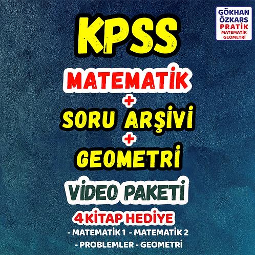 KPSS MATEMATİK + GEO + SORU ARŞİVİ VİDEO PAKETİ
