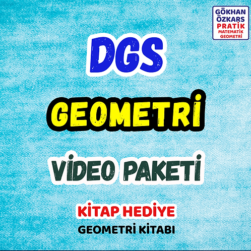 DGS GEOMETRİ VİDEO PAKETİ