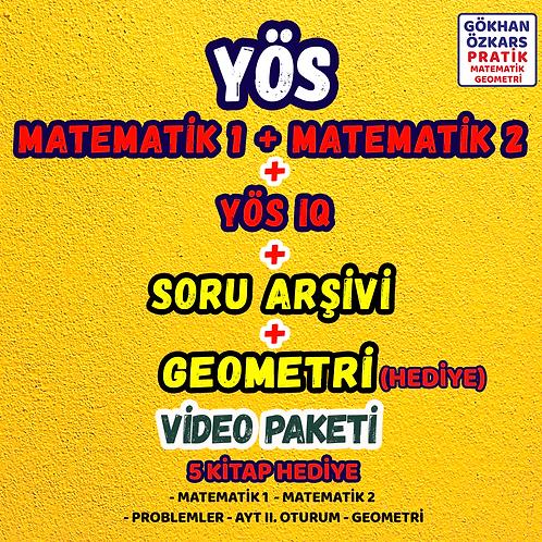 YÖS Matematik & Geometri Video Paketi