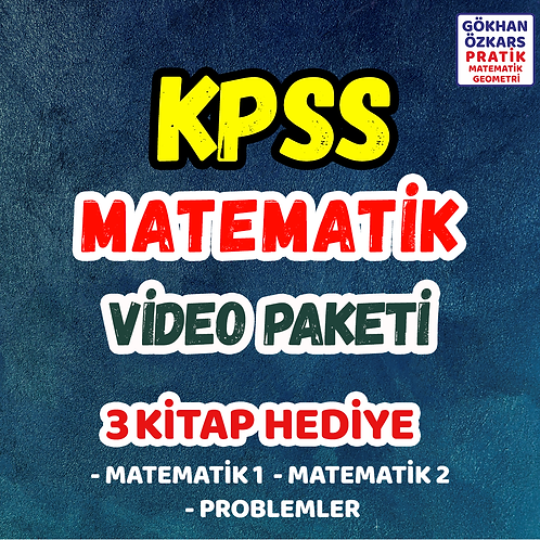 KPSS MATEMATİK VİDEO PAKETİ