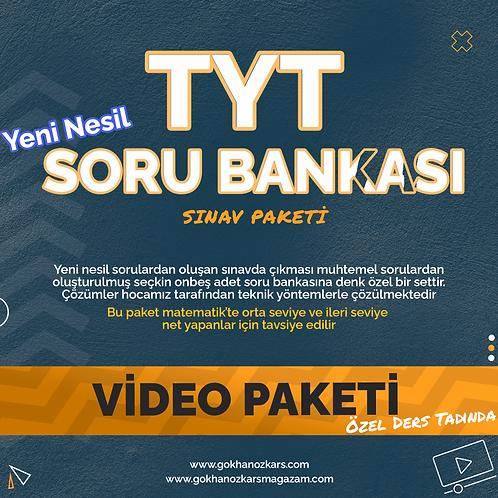 TYT SORU BANKASI VİDEO PAKETİ