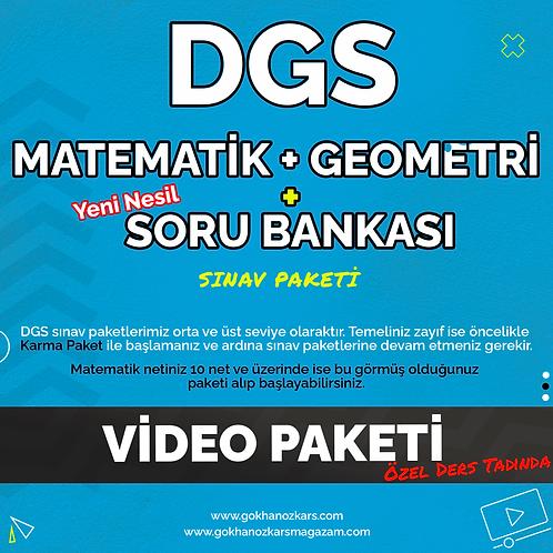 DGS MATEMATİK + GEOMETRİ + SORU ARŞİVİ