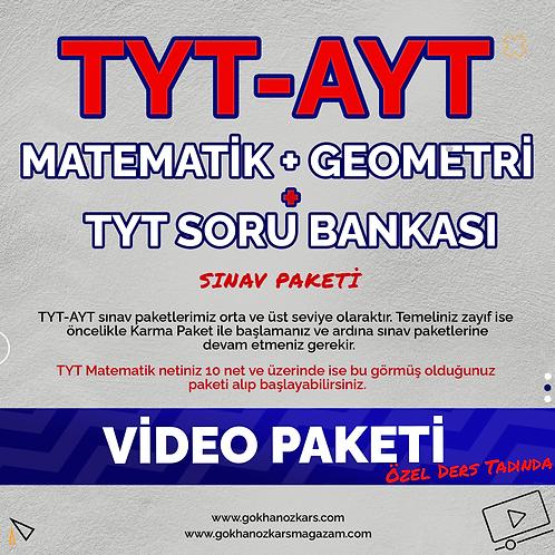 TYT & AYT MATEMATİK + GEOMETRİ + SORU ARŞİVİ