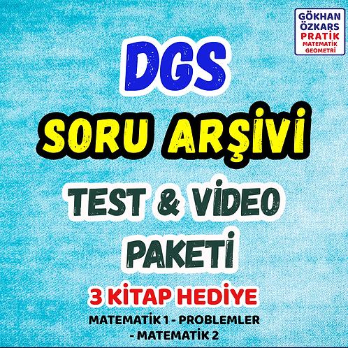 DGS SORU BANKASI ARŞİVİ VİDEO PAKETİ