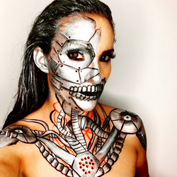 Facepainting/Bodypainting Roboter