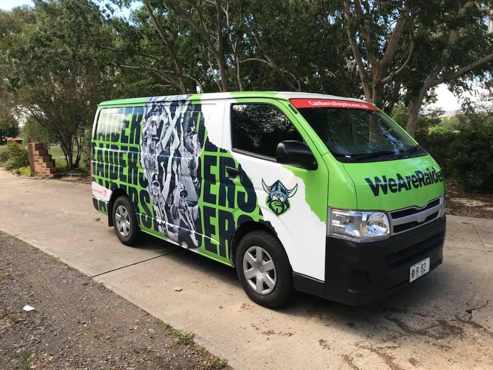Canberra Raiders Vehicle