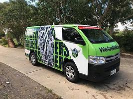 Canberra Raiders Van