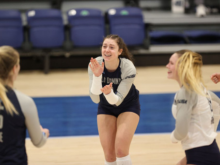 ODU Serving Up Women's Volleyball