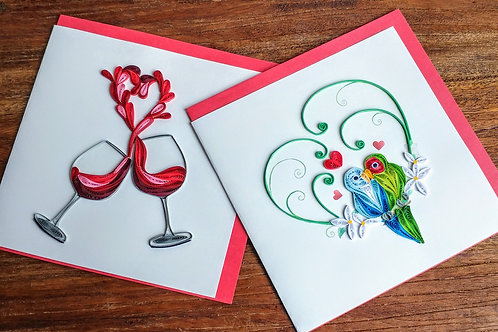 Quilling Card - (ea.)