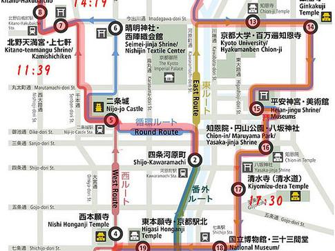 KyotoWorld Heritage Loop Bus