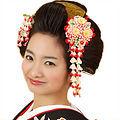 일본전통머리