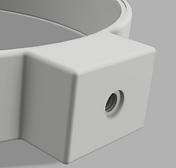 3D Printed Custom LED