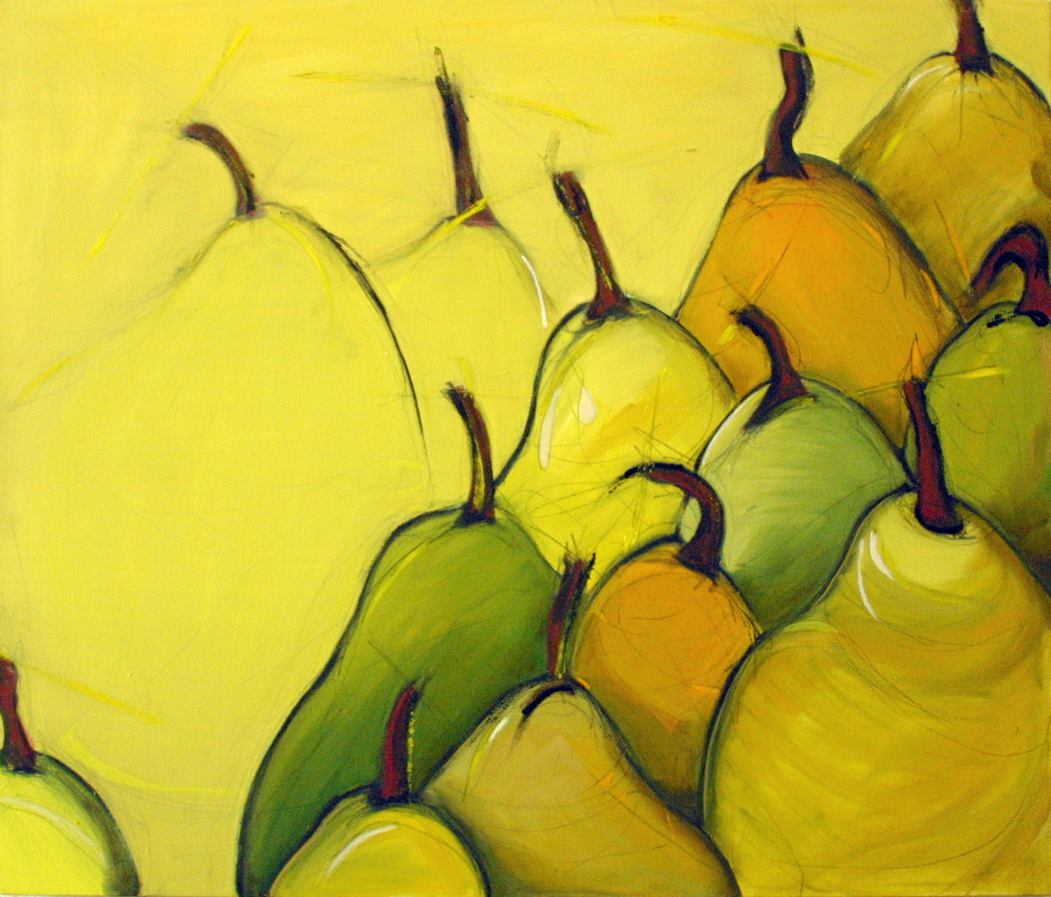 Thirteen Pears