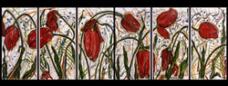 Twelve Tulips