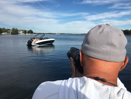 Bill Doster boat photographer shots lifestyle image.