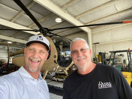A fun visit with chopper pilot Paul Barth. Best know for flying barefoot and backwords on Boat shoots.