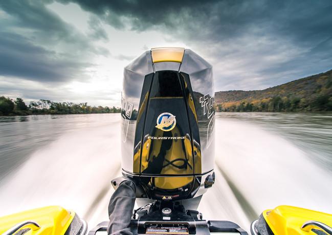 Mercury Racing 250 wide open