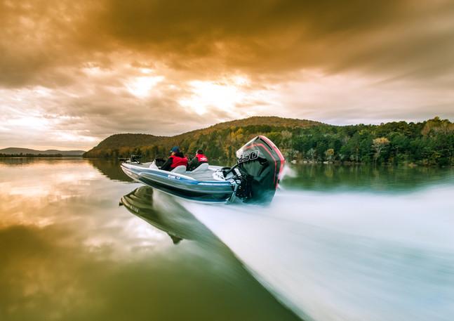 Allison bass boat with Mercury 250R motor
