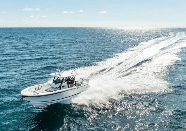 Blackfin center console fishing boat