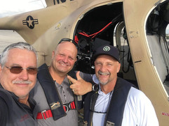 Photo/video crew ready to fly with Paul Barth of CameraCopters.