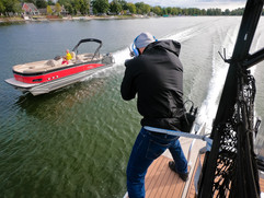 Bill Doster, Boat photographer.