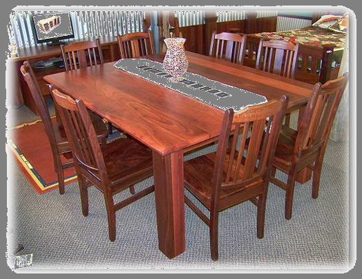 Jarrah Table 8 Seater